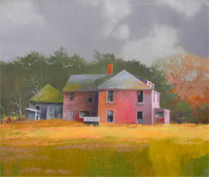 Frank's Place oil on canvas by Paul Stone