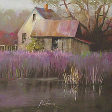 Loosestrife by Paul Stone Art