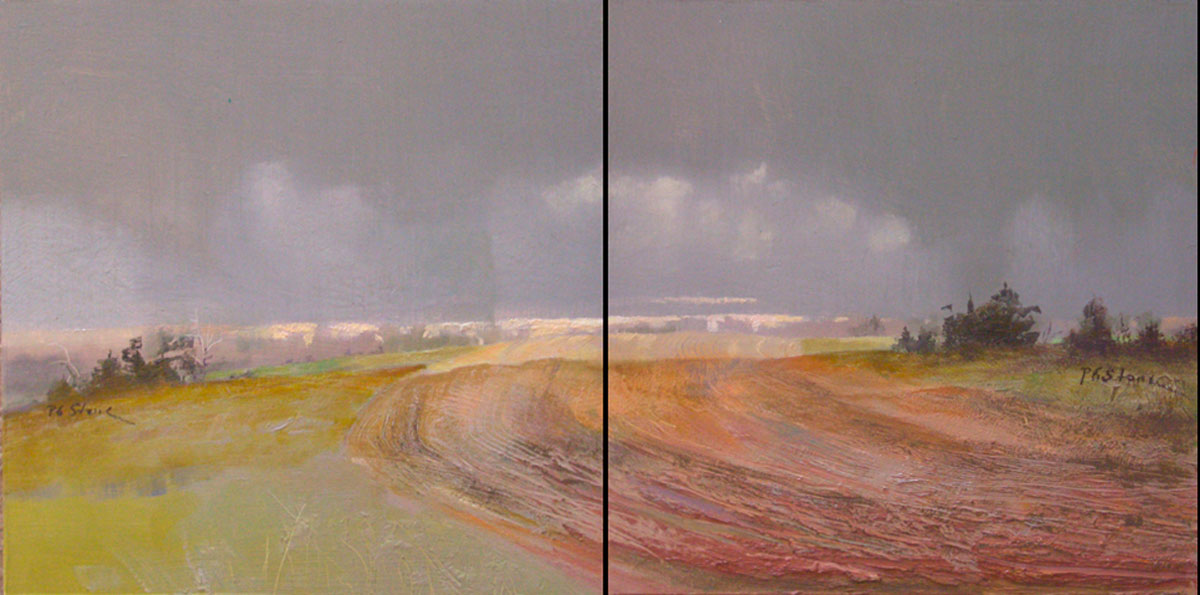NE Kingdom Diptych by Paul Stone