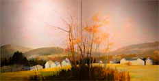 Scott Farm Diptych by Paul Stone