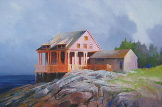 Seahouse by Paul Stone Art
