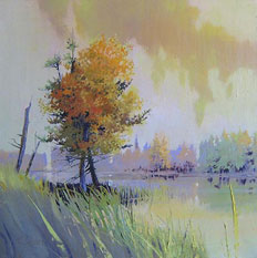 Upland Pond by Paul Stone Art