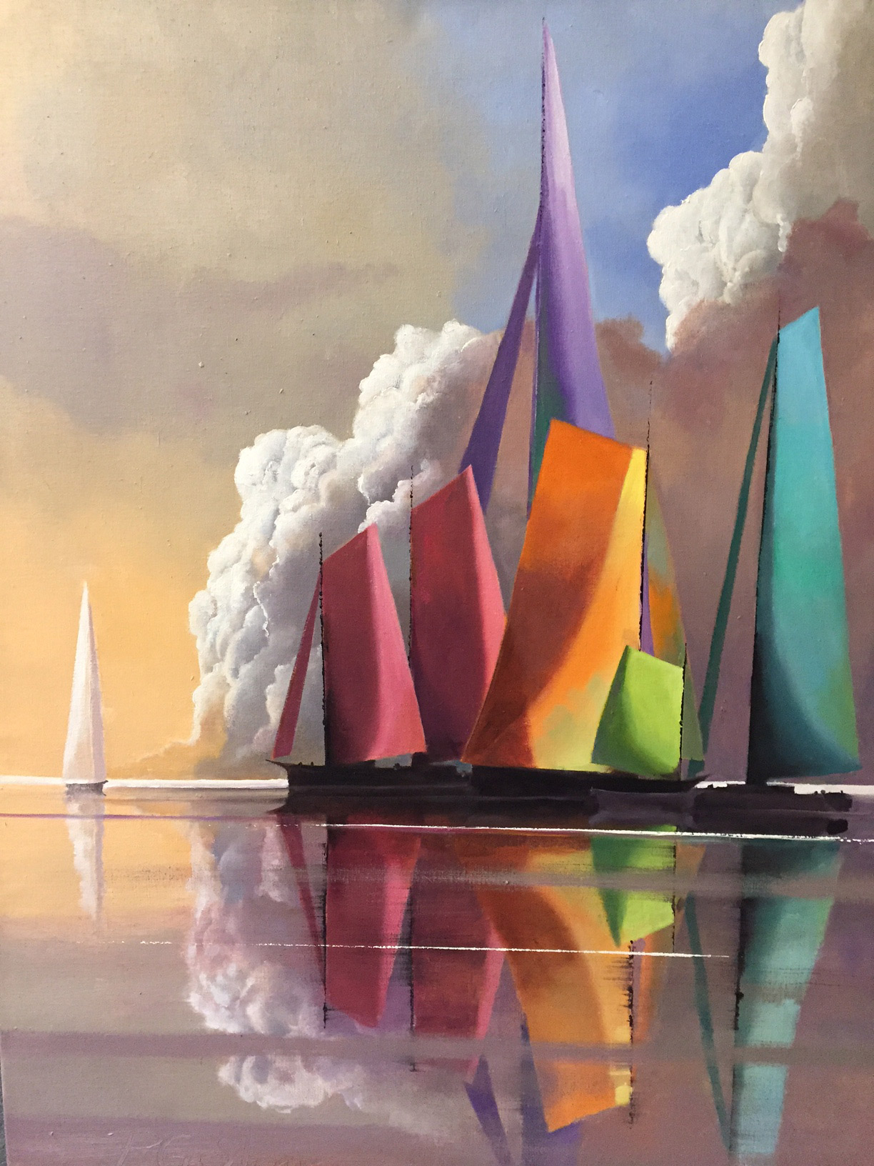 A Spectrum of Sails by Paul Stone